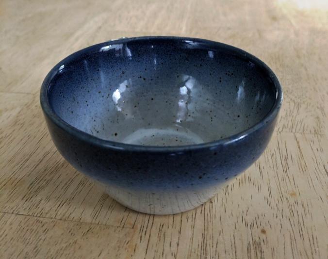 ceramic on wood