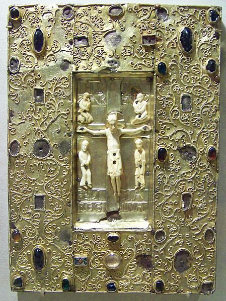 449px-wla_metmuseum_book_cover_with_byzantine_icon_of_the_crucifixion_6