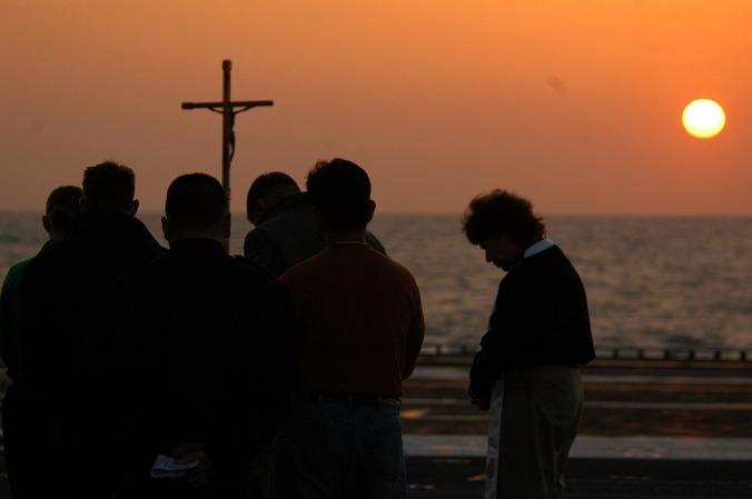 Faith Clouds Religion Easter Sky Sunrise Service