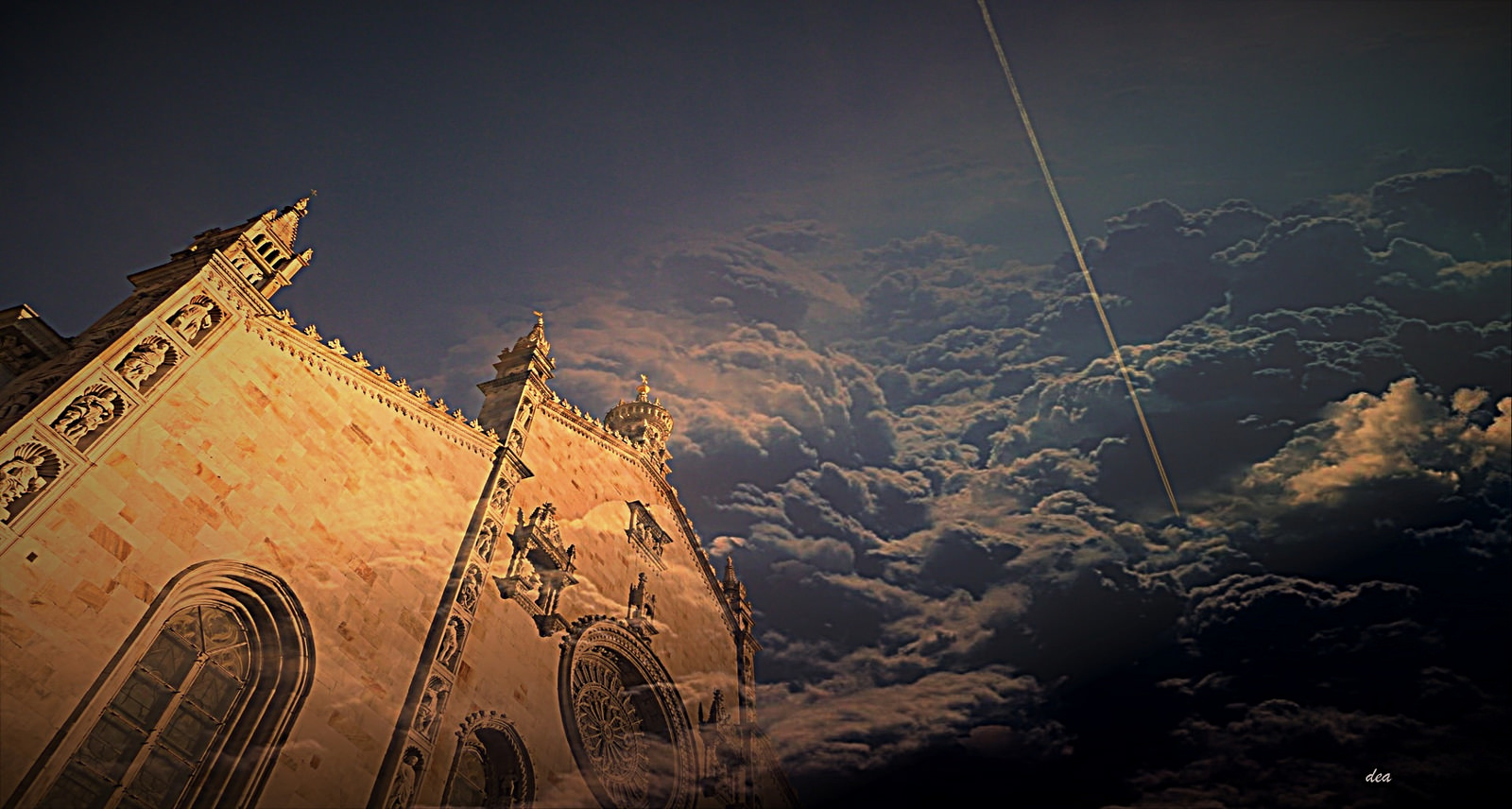 cathedral clouds