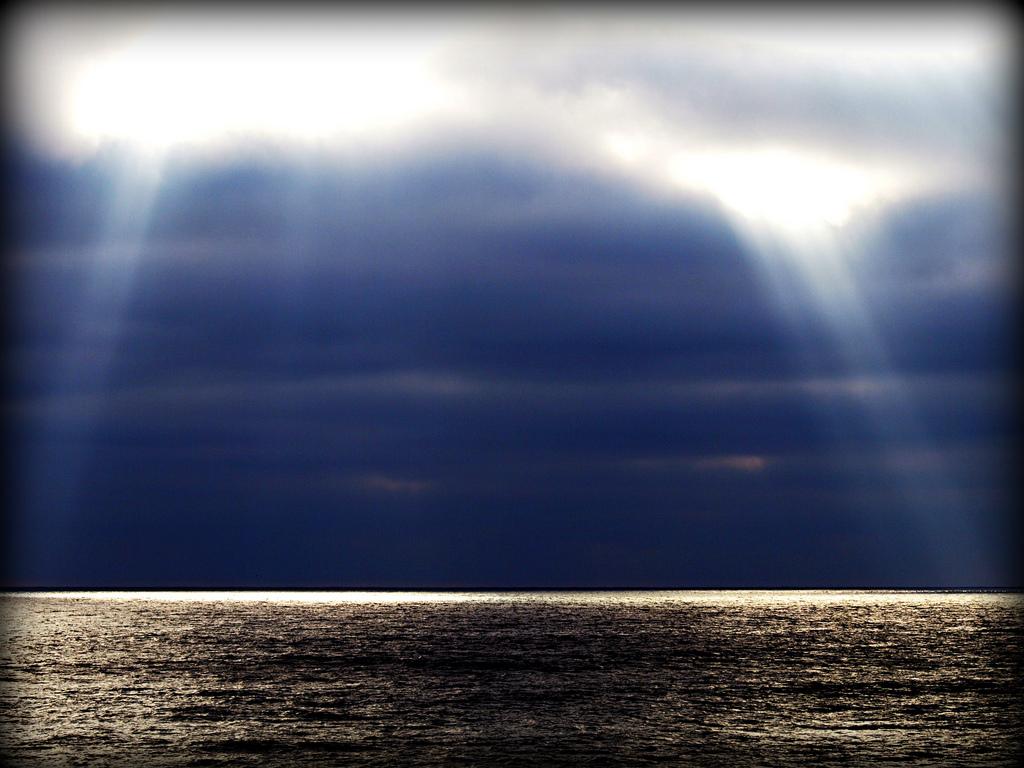 light meets dark