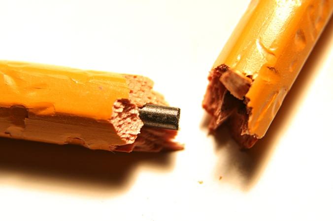 pencil frustration