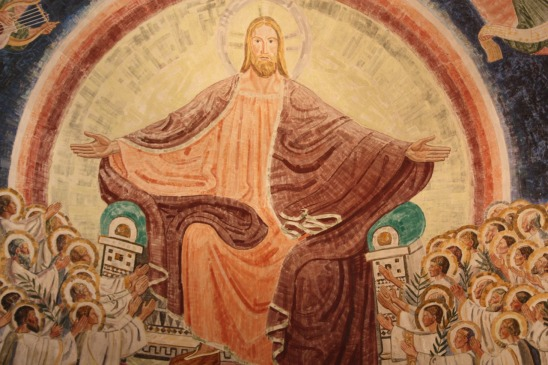 christ ascended