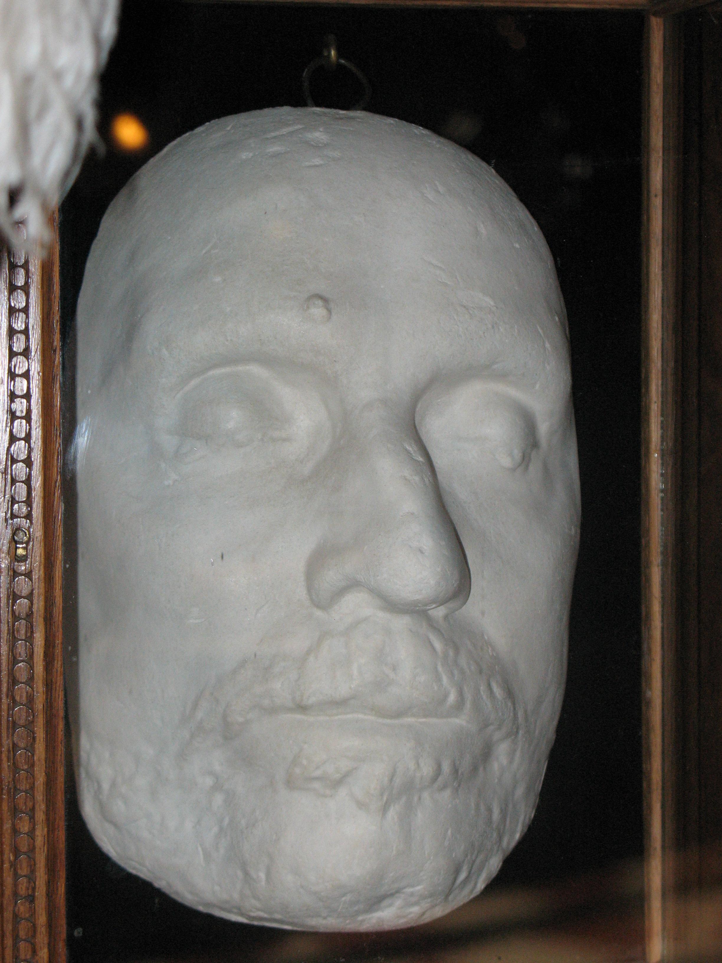 Cromwell Death Mask