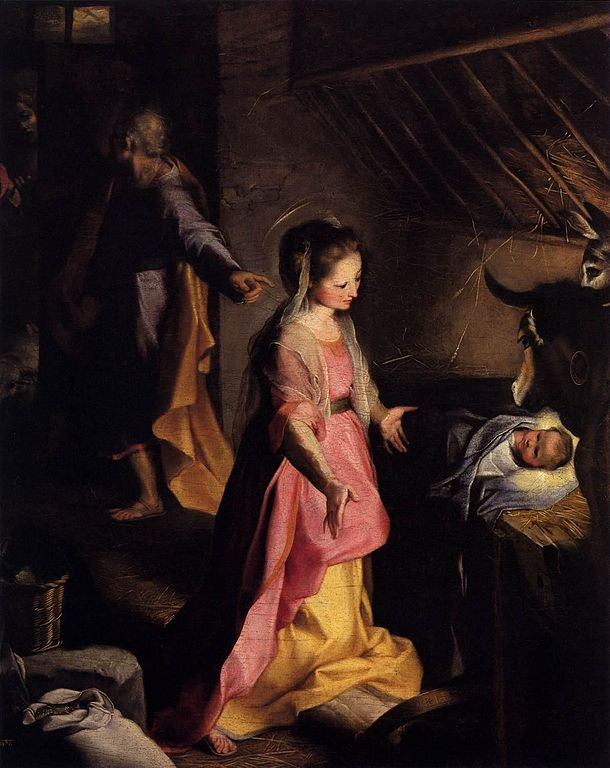 610px-Federico_Barocci_-_The_Nativity_-_WGA01293