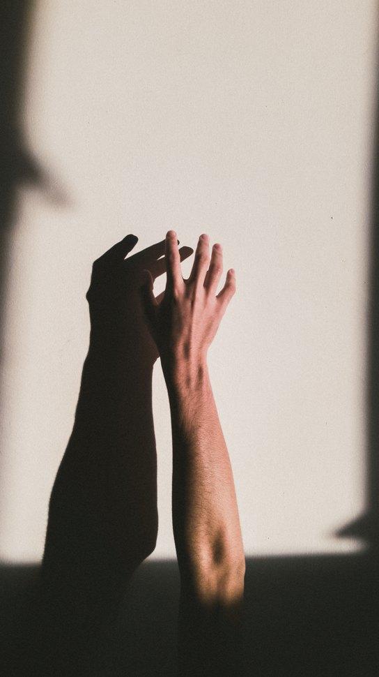 hand shadow