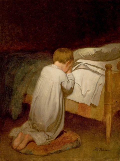 eastman_johnson2c_child_at_prayer2c_circa_1873
