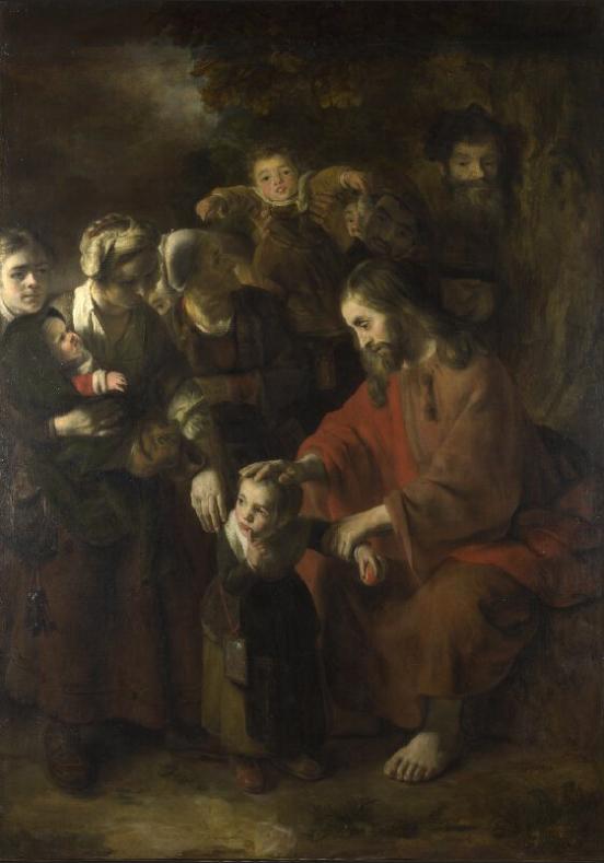 nicolaes_maes_-_christ_blessing_the_children_-_wga13814